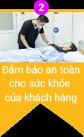 đảm bảo an toàn cho sức khỏe của khách hàng