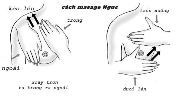 phương pháp nâng ngực không đau Bật mí phương pháp nâng ngực không đau nhờ massage