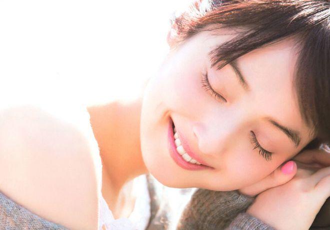 ngắm đôi mắt đẹp long lanh của mẫu đình đám Nhật Bảni