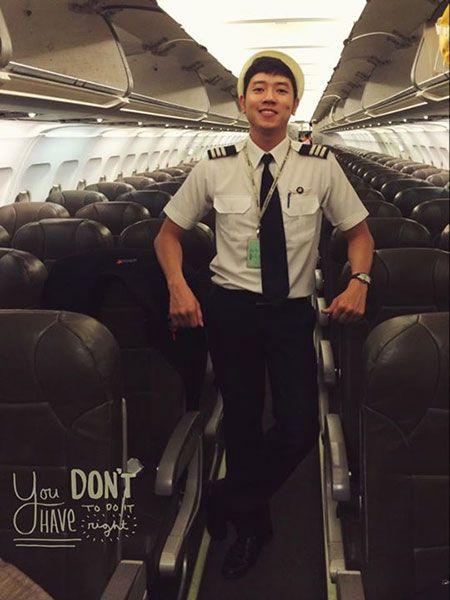 Cơ trưởng trẻ nhất Việt Nam