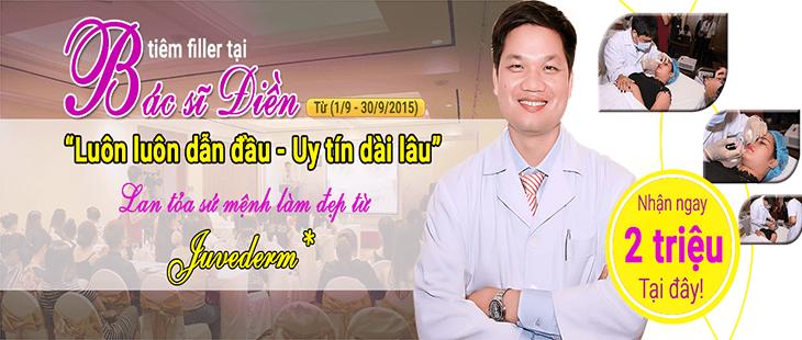 Viện thẩm mỹ Bác sĩ Điền – Thương hiệu số 1 trong tiêm chất làm đầy