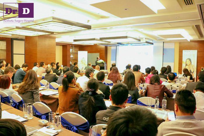 Ths.Bs Lê Hữu Điền tham dự hội thảo tối ưu hóa hiệu quả thẩm mỹ trong sử dụng túi ngực