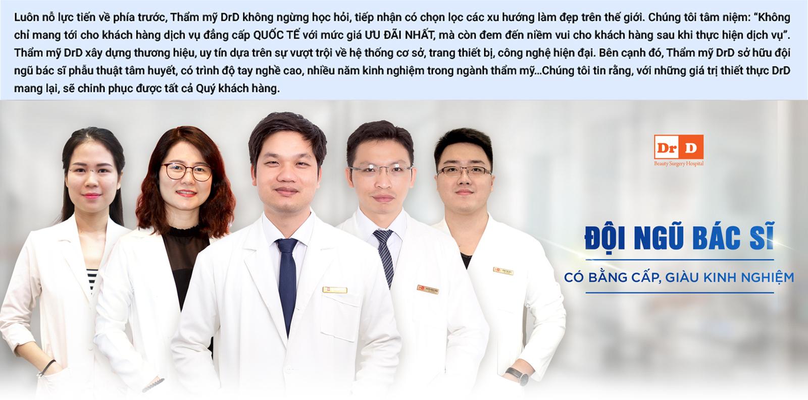 Đội ngũ bác sĩ tâm huyết và có tay nghề cao
