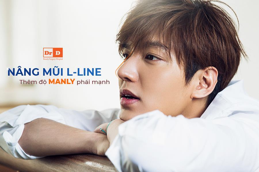 Nâng mũi L-Line – Tăng thêm độ góc cạnh cho nam giới