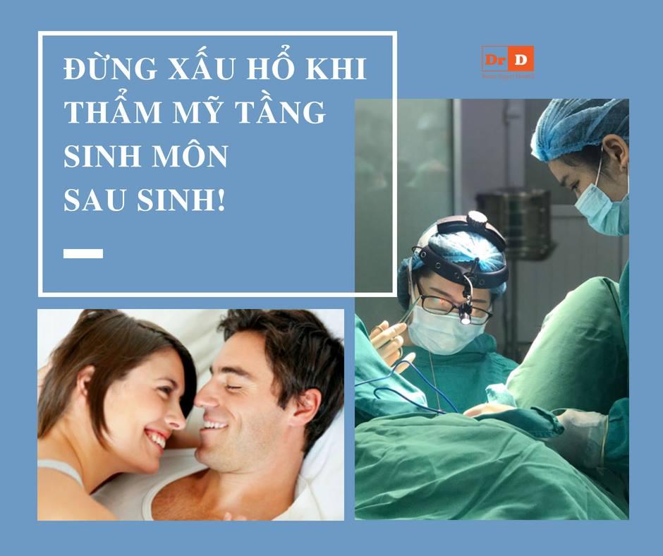 Chị em rủ nhau đi phẫu thuật thẩm mỹ tầng sinh môn sau sinh