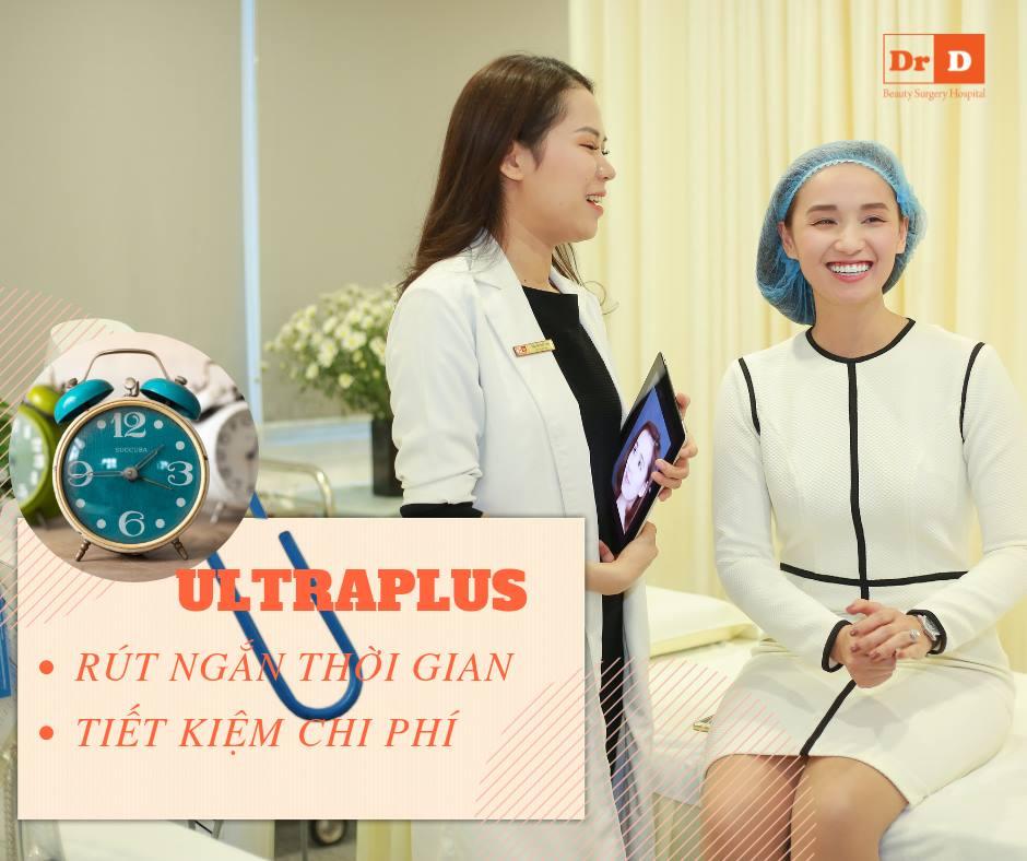 UltraPlus - Liệu pháp nâng cơ trẻ hóa tiết kiệm thời gian