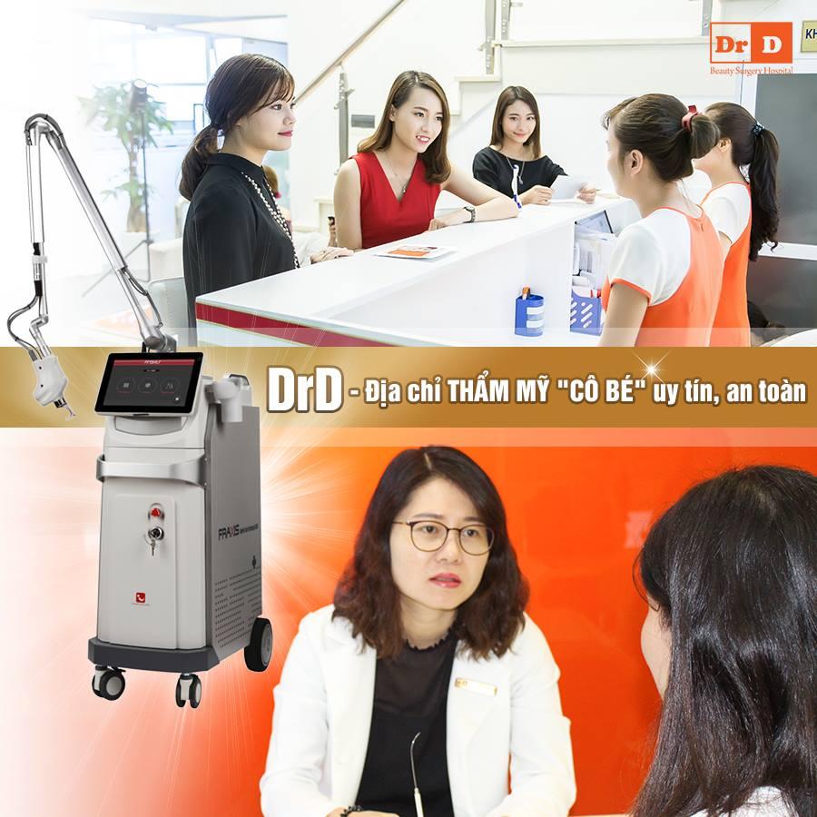 Thẩm mỹ DrD sở hữu đội ngũ bác sĩ nữ chuyên nghiệp